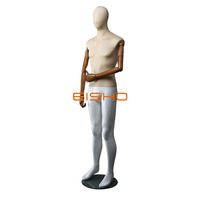 Fashion Designer Male Mannequins Factory Price Fabric Wrapped Male Mannequin