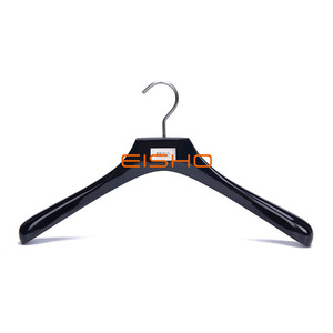 Clothing Store Wooden Hangers Wooden Clothes Hangers Can Be Customized Logo