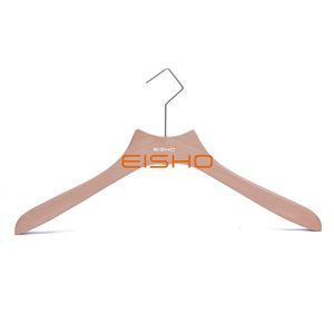 Clothing Store Solid Wood Hanger Household Wooden Clothes Support Wood Clothes Hanger