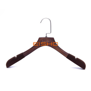 Customized Non-Slip Wooden Clothing Hanger Wholesale