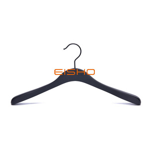 Customized Brands Logo Boutique Clothes Wood Hanger